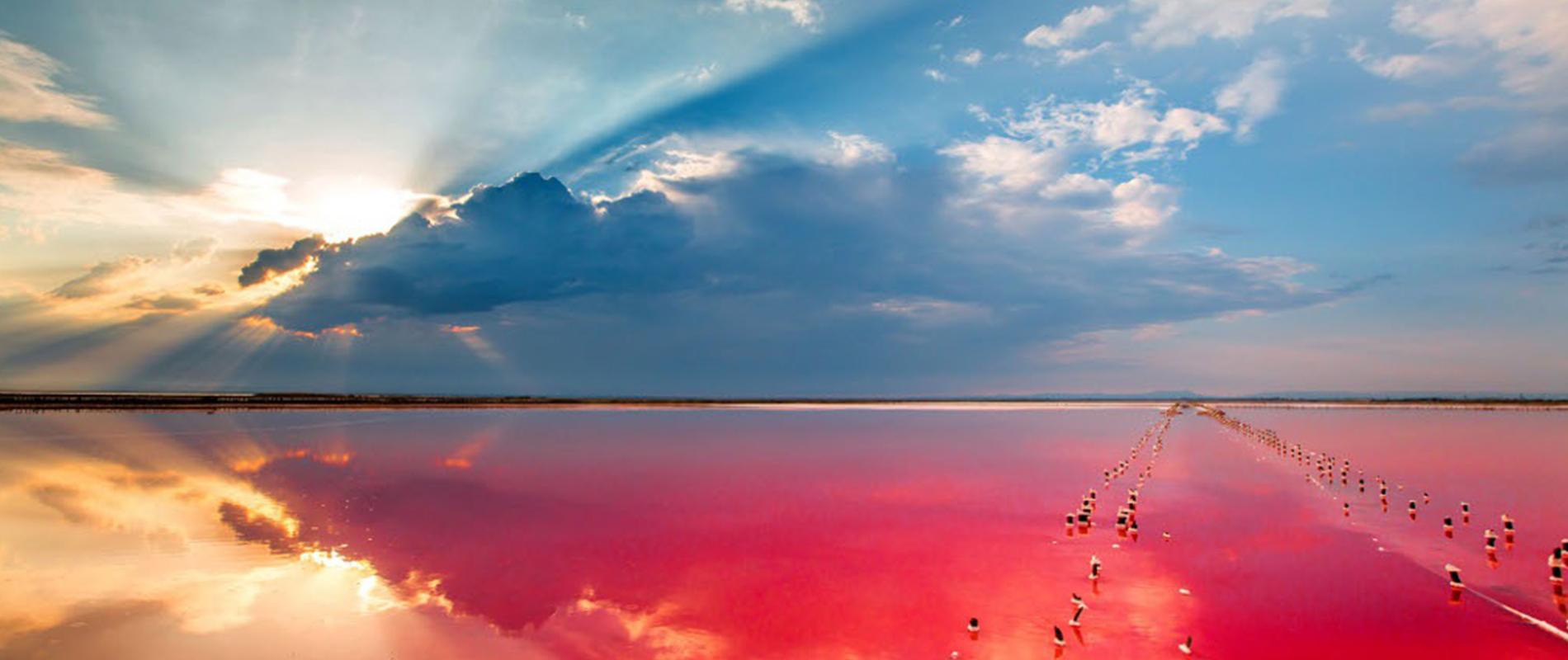 Sivash, lo specchio d'acqua dai colori misteriosi