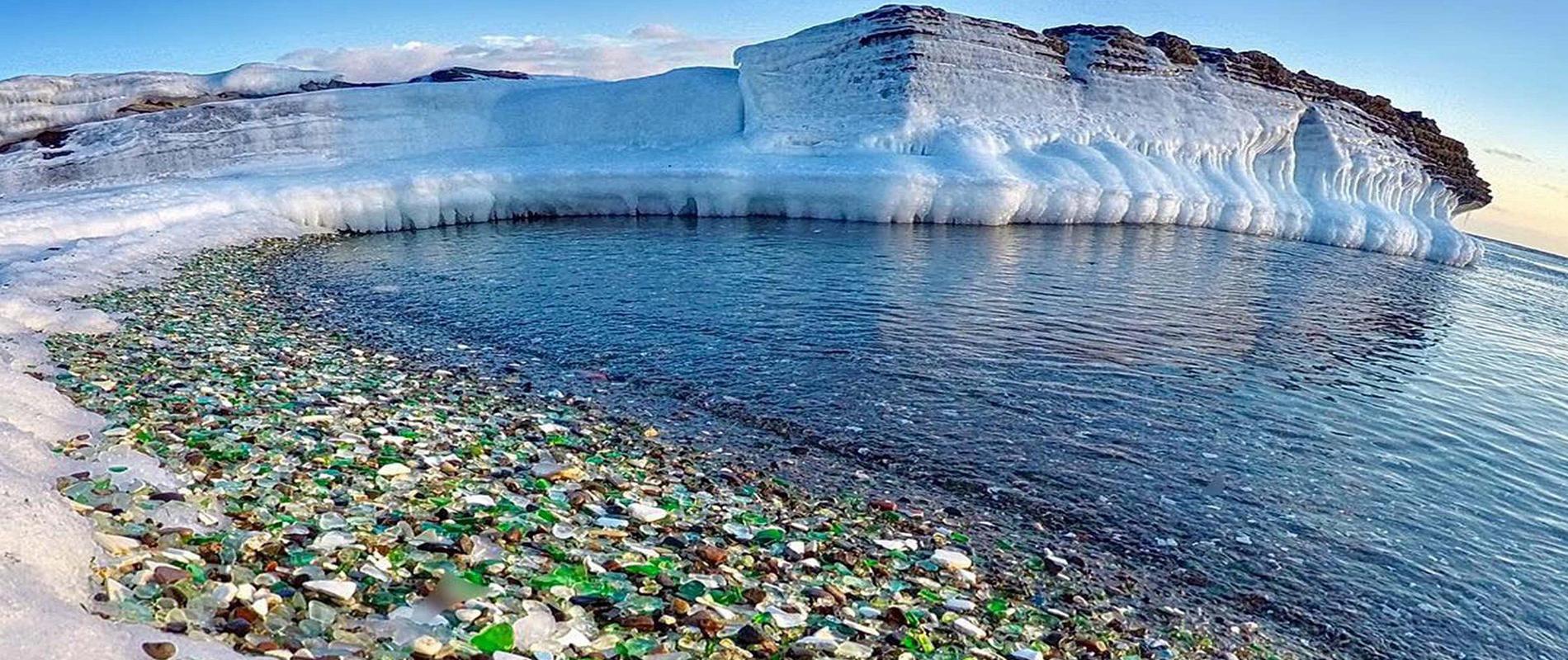 Ussuri Bay, la spiaggia di vetro più bella del mondo