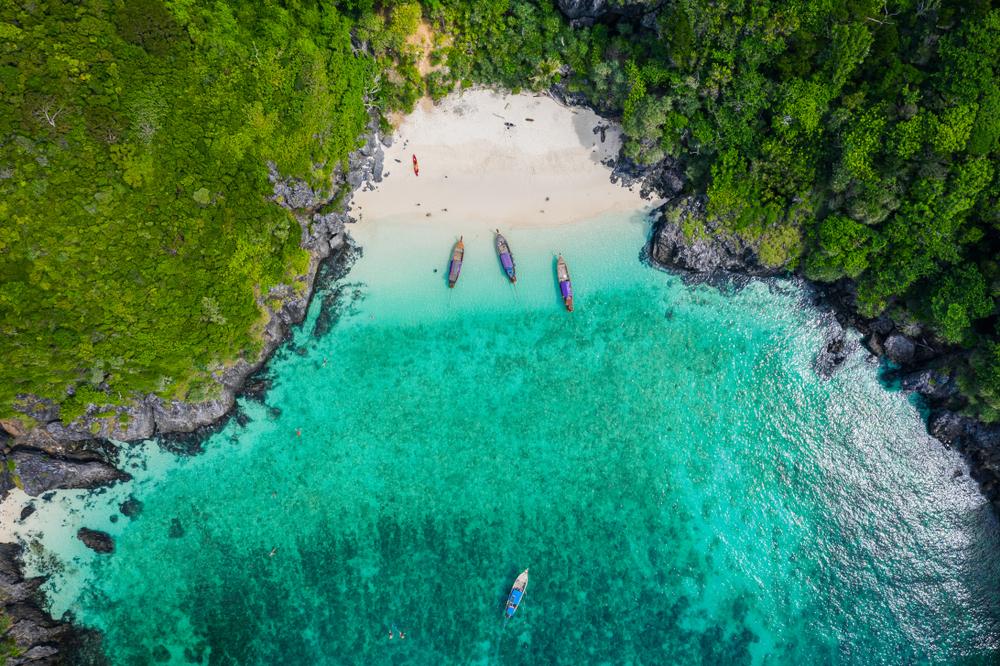 Maya Bay, il paradiso naturale di The Beach