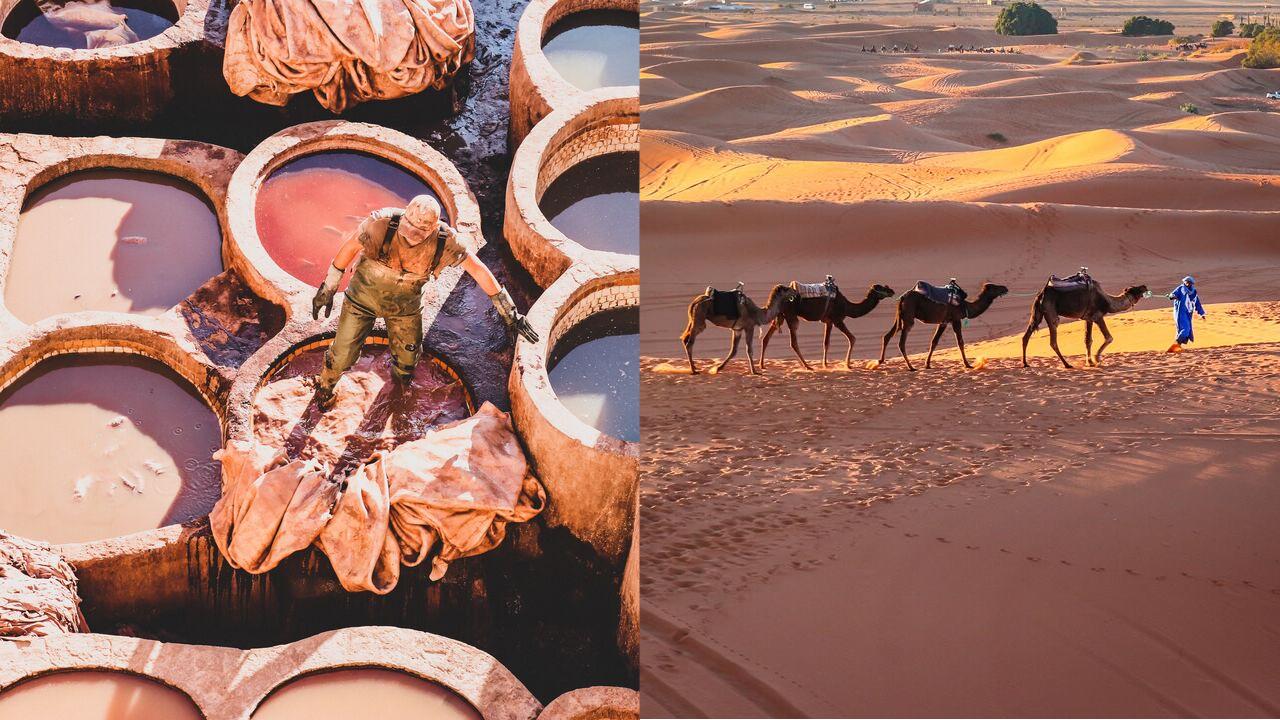 Marocco: Erg Chebbi e le alte dune del Sahara
