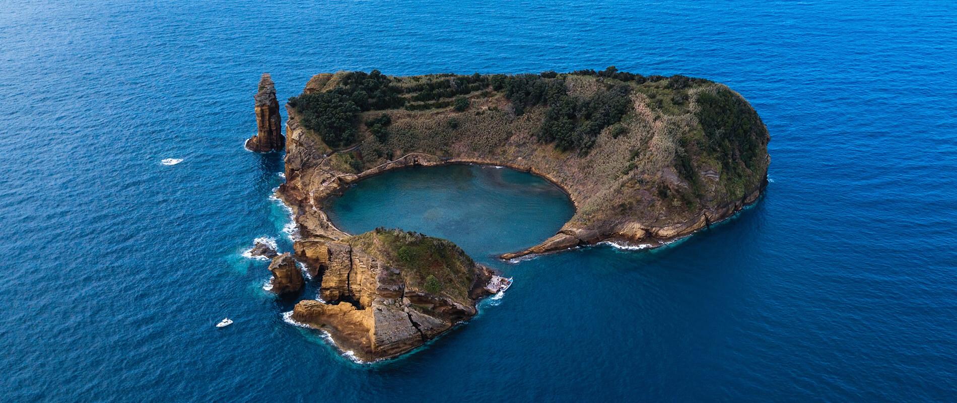 Ilhéu de Vila Franca do Campo, l'incantevole isolotto dell'arcipelago delle Azzorre