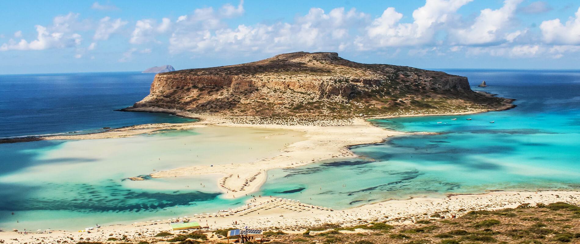 La Laguna di Balos, bellezza incontrastata dell'isola di Creta