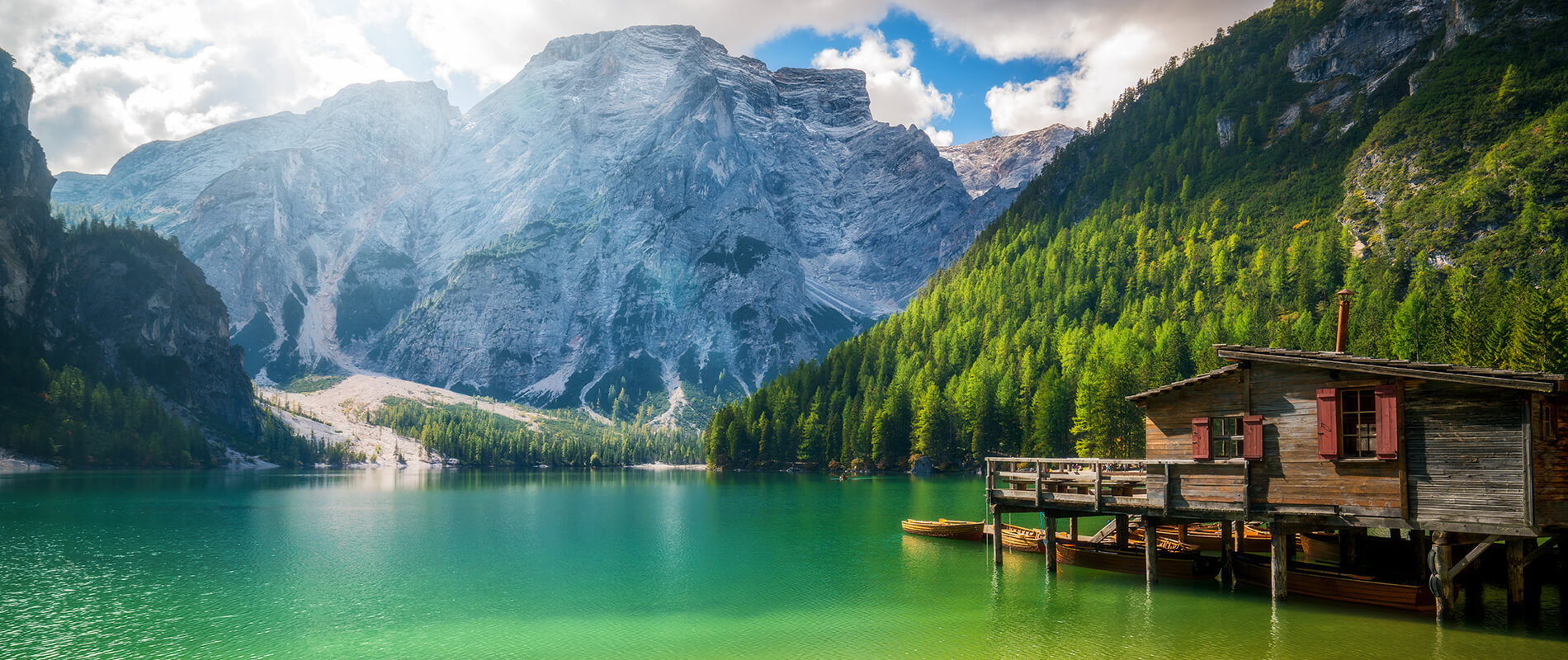 Pragser Wildsee, a jewel nestled in the heart of the Dolomites