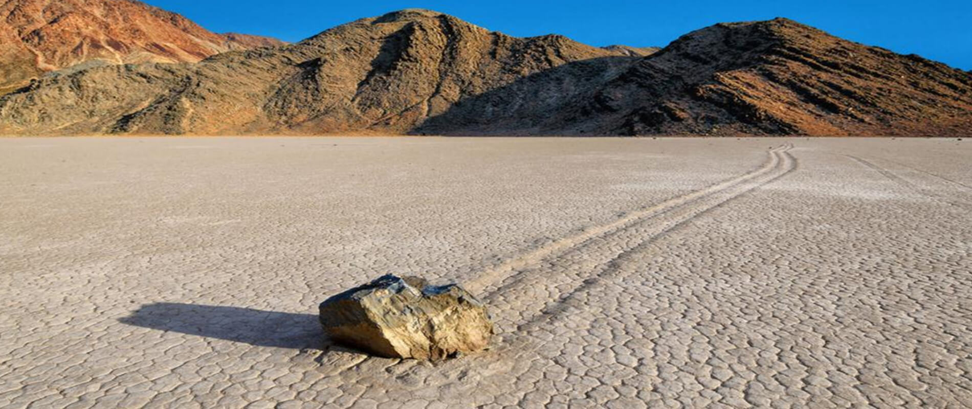 Racetrack Playa, the mysterious moving stones of Death Valley